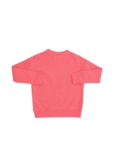 Asymmetry Sweatshirt Pembe